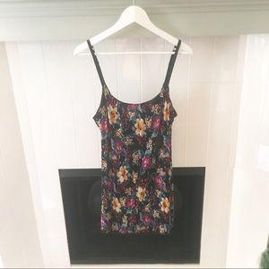 Free People Intimates & Sleepwear - Free People Floral Mini Slip Dress